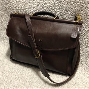 COACH Vintage Beekman Leather Briefcase.